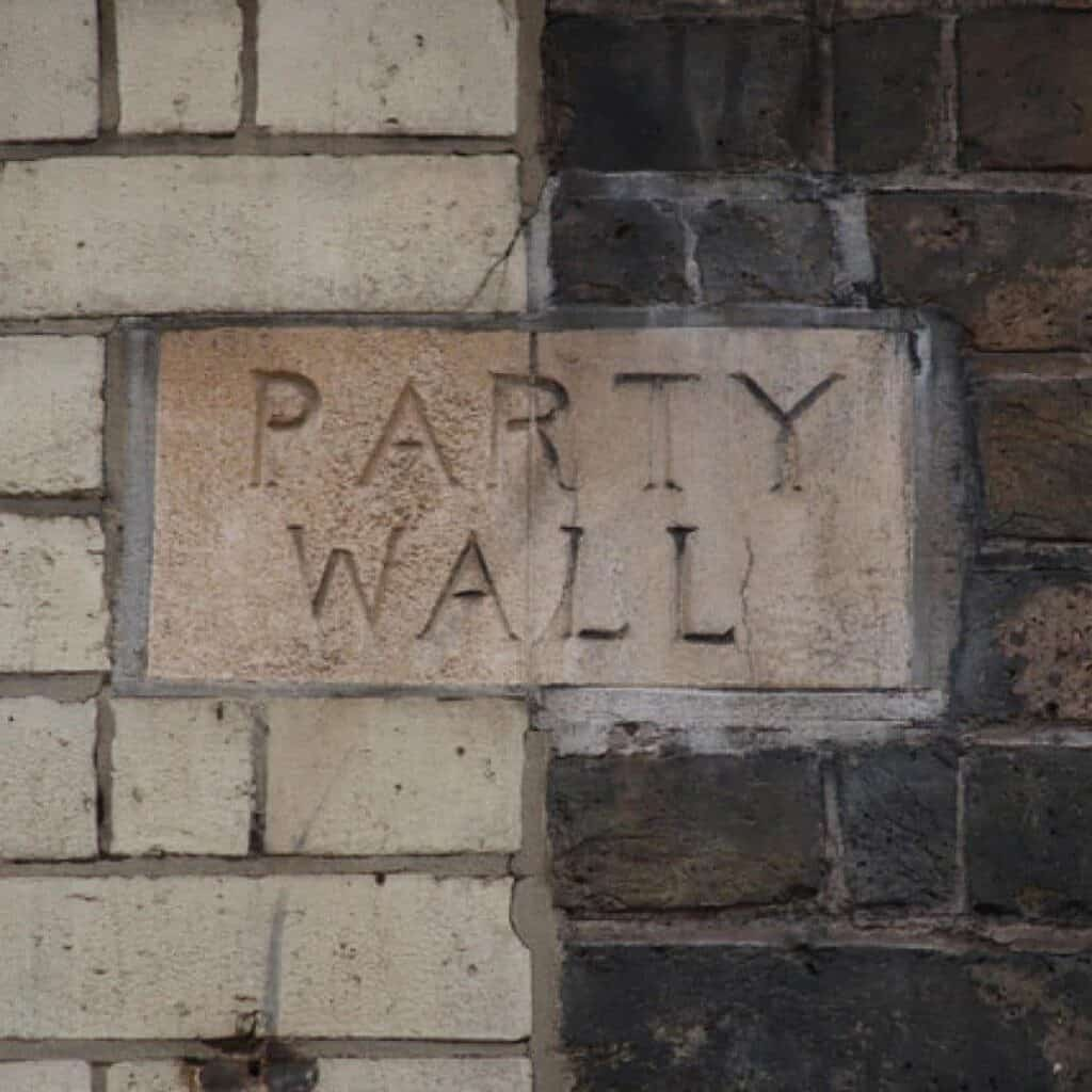 Party Wall Surveyor - Party Wall Sign