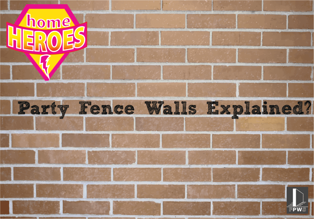 Party Wall Surveyor Canterbury - Party Fence Wall Graphic